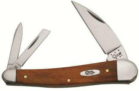 "Case Cutlery Case Seahorse WHT 3Bl 4"" CNUT Bone"