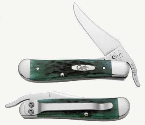 "Case Cutlery Case RUSSLCK 1Bl 41/4"" BERMUDAGRN"