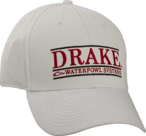 Drake Waterfowl Drake GAMEDAY Series Cap WHT/Red