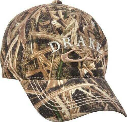 Drake Waterfowl Drake Logo Cotton Cap Max-5
