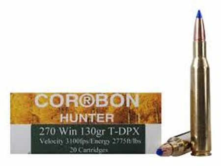 Corbon T-dpx 270 Winchester 130Gr 20 Rounds Per Box Ammo