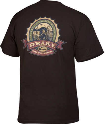 Drake Waterfowl Drake Bottle Cap SS TSHIRT DRKCHOC