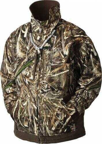 Drake Waterfowl Drake Men's Waterfowl Fleece-Lined Full Zip 2.0 Jacket Large Md: DW2102-013-3