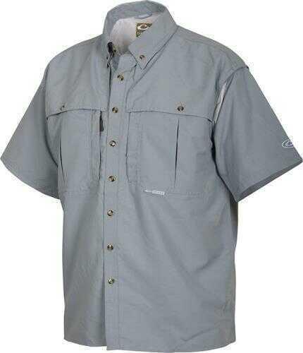 Drake Waterfowl WingShooter's Collar Shirt, Powder Blue, XL Md: DW2600-PWD-4