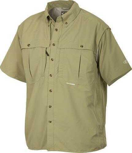Drake Waterfowl WingShooter's Collar Shirt, Sea Green, Large Md: DW2600-SEA-3