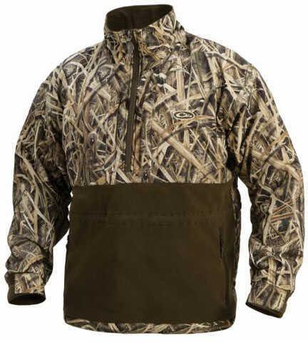 Drake Waterfowl Drake Eqwader 1/4 Zip Jacket Max-5 Small