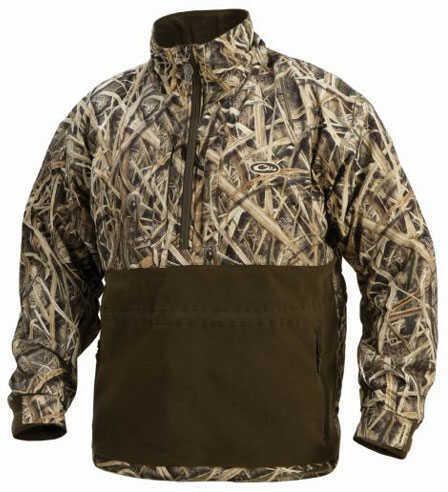 Drake Waterfowl Drake Eqwader 1/4 Zip Jacket Shbr Medium