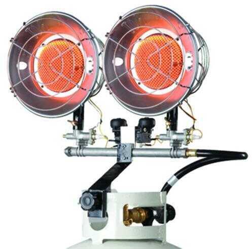 Mr. Heater Corporation Mr Heater Double Mh30t 10,000-30,000 Btu 20 Pound Tank