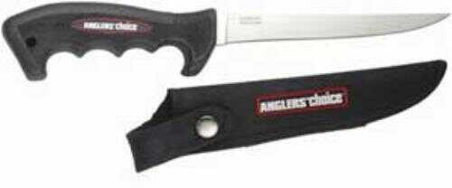 "Anglers Choice/Suncoast Angler's Choice Finger Grip Fillet Knife 6.5"""
