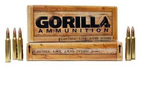 Gorilla Ammunition Company Gorilla 223 Remington 77gr Sierra MatchKing Ammunition 20 Per Box