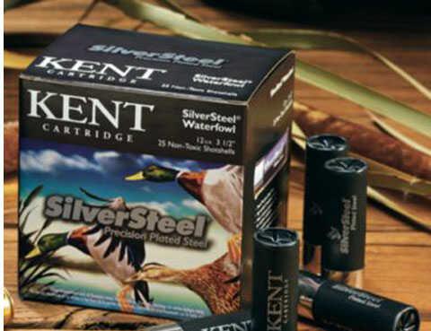 "Kent Cartridges Kent Fasteel 12 Ga 3.5"" 1 3/8Oz 25 Rounds Per Box Shotshells"