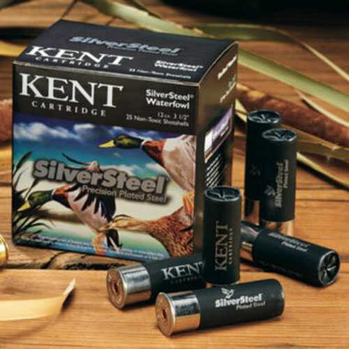 "Kent Cartridges Kent Silversteel 12 Ga 3"" 1 1/4Oz 25 Rounds Per Box Shotshells"