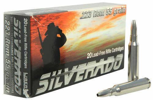 Liberty Ammunition Liberty Silverado 223 55Gr Hollow Point 20 Box