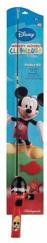 "Shakespeare SKP Mickey Mouse 2'6"" SPNCAST Combo"