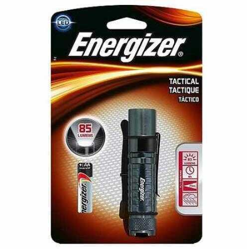 Energizer Tactical Led Metal Flashlight 1aa85lu