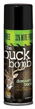 Hunter Specialties Buck Bomb Dominant Buck 6.65oz Spray