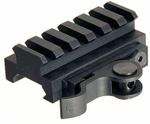 Aimshot QR Rail Adapter QR 60mm PicRail LowPro Md: MT61172-60LP