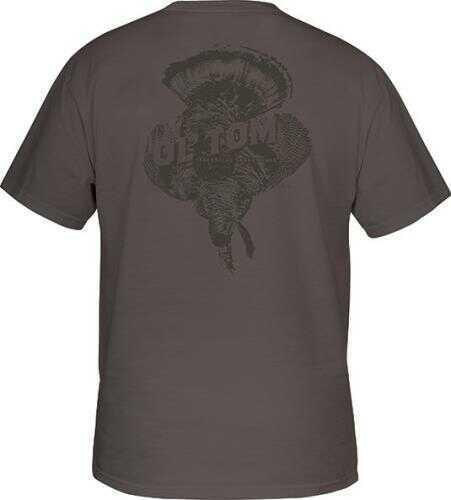Drake Waterfowl Drake Ol' Tom Hanging Tom T-Shirt, Charcoal, Medium Md: OT2101-CHR-2