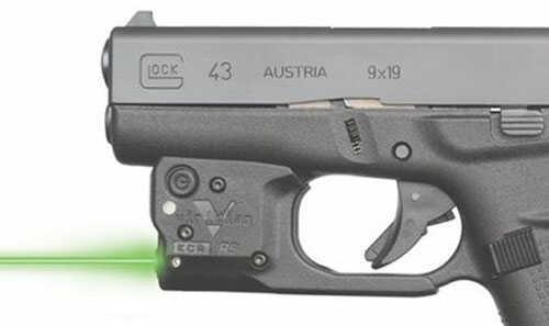 Viridian Weapon Technologies Reactor 5 Green Laser Glock 43