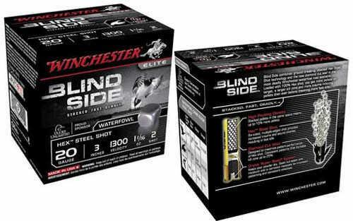 "Winchester Blindside High Velocity 20 Gauge #3 Shot 3"" Shell 7/8oz 25rds MN# SBS203HV3"