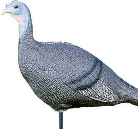 Feather Flex Hen Turkey Decoy With Stake