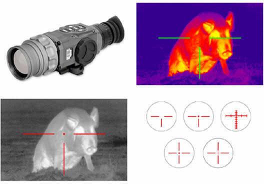 ATN American Technologies Thermal Imaging Scope Thor-336 4.5x-18x 336x256 PX Sensor Mn# TIWSMT334A