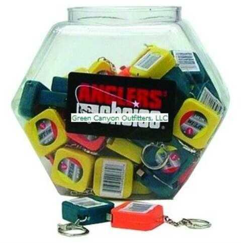 "Anglers Choice/Suncoast Angler's Choice Key Chain 36"" Tape Measure Kit (Counter Display) 72 Each"