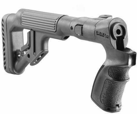 Mako Group Tactical Folding Buttstock with Cheek Riser for Mossberg 500/ 590 Shotgun