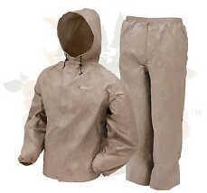 Frogg Toggs® Ultra-Lite2™ Rain Suit, Khaki, Large Md: UL12104-04-L