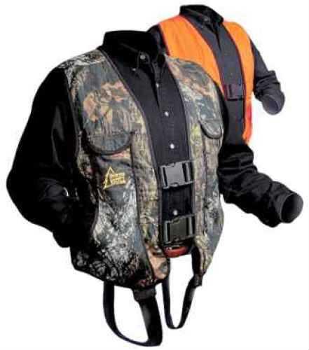 Hunter Safety System Rev Vest Large/X-Large Break-Up/Orange HSS-100 L/XL