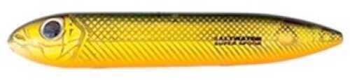 Pradco Lures Heddon Super Spook Jr 3 1/2in 1/2oz Golden Shiner Md#: X9236GS