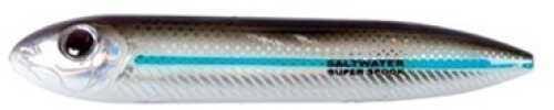Pradco Lures Heddon Super Spook Jr 3 1/2in 1/2oz Silver Mullet Md#: X9236SM
