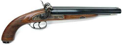 Pedersoli Howdah Hunter Black Powder double Pistol 20 gauge Md: S.358-020