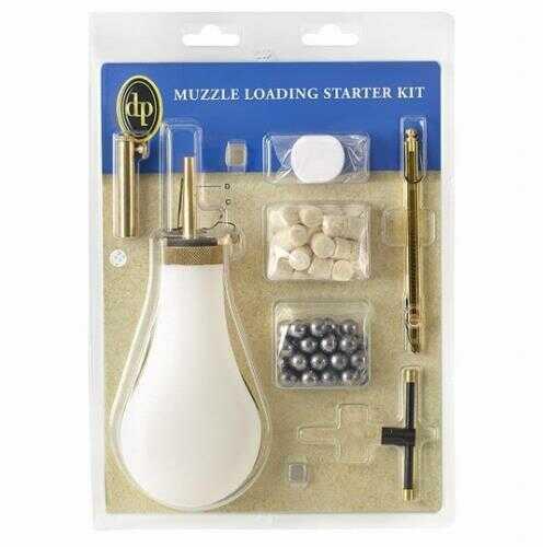 Pedersoli Muzzle Loading Starter Kit Percussion Standard For 50 Caliber Md: USA340-50