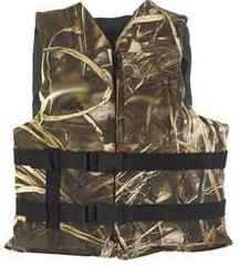 Kent Floatation Kent Universal Life Vest Adult Max-4 Camo 3870-0345