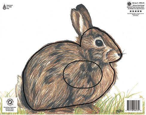 Maple Leaf Press Inc. MAPLE LEAF PRESS INC Maple Leaf NFAA Animal Faces Group 4 Rabbit 14168