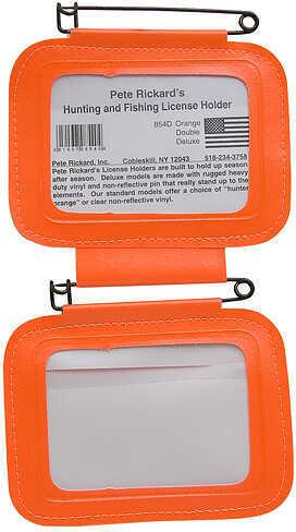 Pete Rickard Rickard's/Scotch License Holders Double Orange 15963