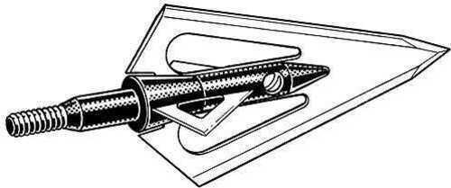 Magnus Outdoor Products MAGNUS ARCHERY COMPANY Magnus Stinger 4 Blade 4 bld. BH 100 gr. 3/pk. 19425