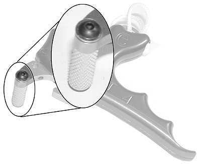 CARTER ENTERPRISES Carter Friction Enhancer Trigger Silver Aluminum 19536