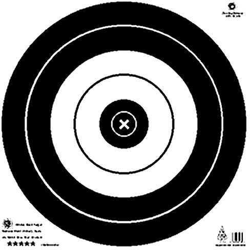 Maple Leaf Press Inc. MAPLE LEAF PRESS INC Maple Leaf NFAA Official Field Targets 50 cm 22403450