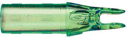 Gold Tip X-Cutter Nock 25/64 Fl Grn 14.0gr 12/pk. 23475