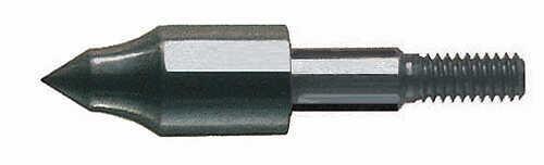 SAUNDERS ARCHERY COMPANY Saunders Screw-In Field Point 5/16 75gr 100/pk 24222