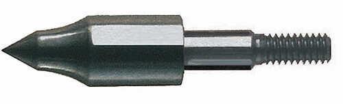 SAUNDERS ARCHERY COMPANY Saunders Screw-In Field Point 5/16 100gr 100/pk 24228