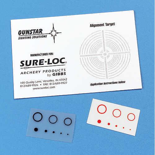 Field Logic Inc. FIELD LOGIC INC Sure Loc Scope Dot Kit Red/Orange 25284
