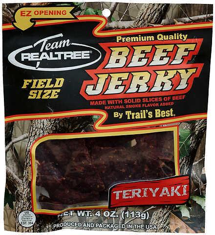 Trail's Best / Monogram Meats TRAIL'S BEST/MONOGRAM MEATS Team Realtree Jerky Teriyaki Beef 3.25 oz. 27972