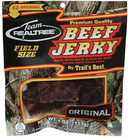 Trail's Best / Monogram Meats TRAIL'S BEST/MONOGRAM MEATS Team Realtree Jerky Original Beef 3.25 oz. 27973