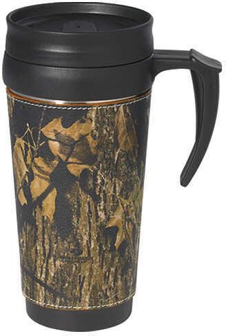 WEBER'S CAMO LEATHER GOODS Weber Camo Leather Travel Mug with Handle BU 202521