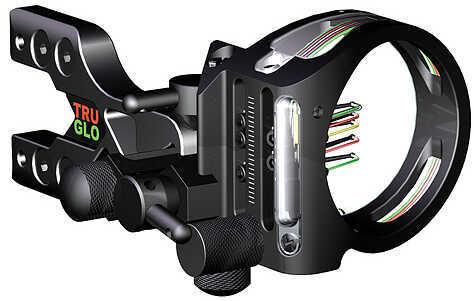 Truglo Tru-Site Xtreme Micro Sight RH/LH Black 7 Pin .019'' w/Light 29034