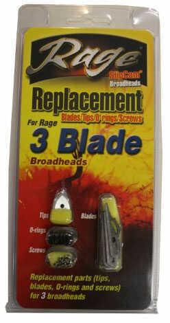 Rage 3 Blade Replacment blades 3 tip 9 main blades 29094