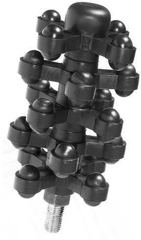 BOW JAX INC Bowjax X-it Stabilizer 4 3/8'' Black 1046